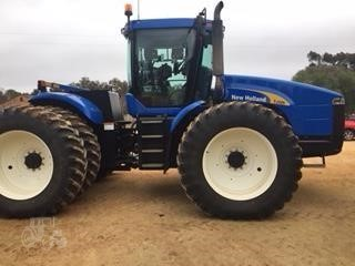 Agland Industries Return to Previous Page Print This Financial Calculator Email This 2005 NEW HOLLAND TJ325 10